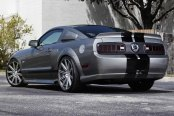 VOSSEN® - VVSCV4 Matte Graphite with Machined Face and Ring on Ford Mustang
