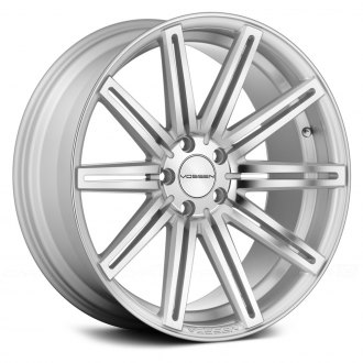 VOSSEN® - VVSCV4 Silver with Polished Face