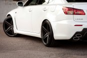 VOSSEN® - VVSCV5 Matte Graphite on Lexus IS