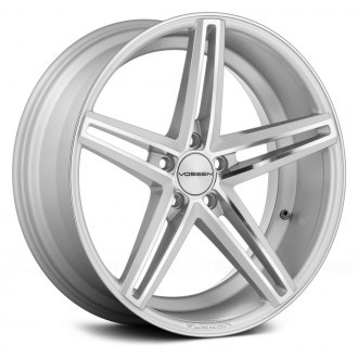 VOSSEN® - VVSCV5 Silver with Mirror Machined Face