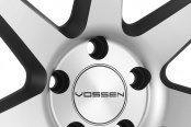 VOSSEN® - VVSCV7 Matte Graphite with Machined Face and Ring Close-Up
