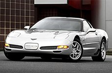 VOXX REPLICA® - C5-Z06 Silver on Chevy Corvette