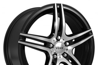 VOXX® - CAPRI Gloss Black with Mirror Machined Face