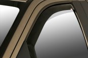 Image may not reflect your exact vehicle!Wade® - In-Channel Smoke Window Deflectors