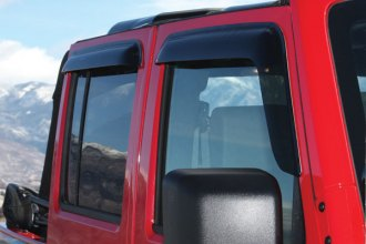 Wade® - Slim Design Smoke Window Deflector