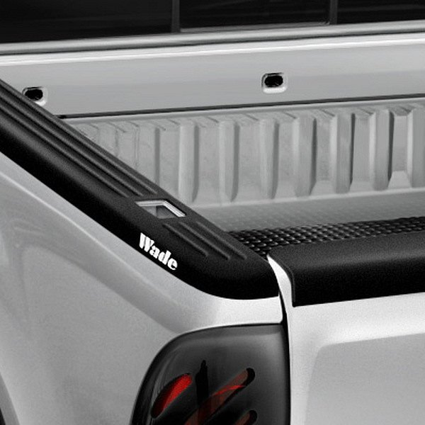 Image may not reflect your exact vehicle! Wade® - Ribbed Side Bed Caps w/o Holes