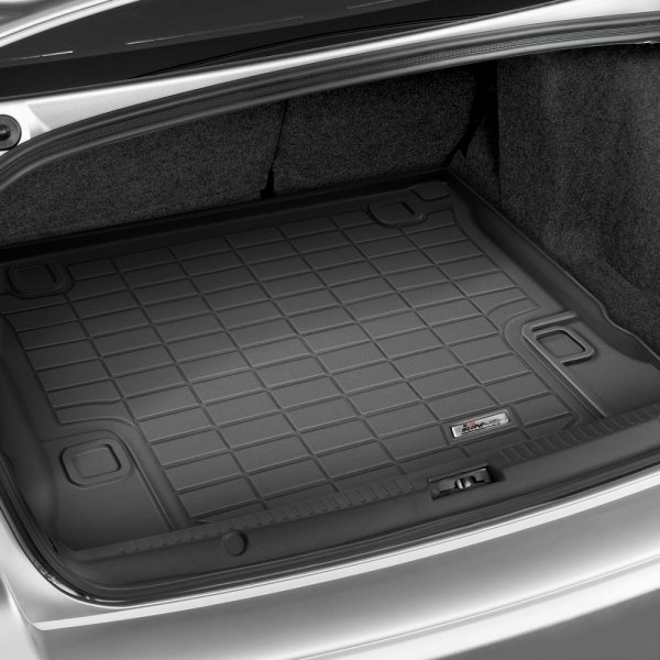 Image may not reflect your exact vehicle! Wade® - Sure-Fit Black Cargo Mats