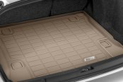 Image may not reflect your exact vehicle! Wade® - Sure-Fit Tan Cargo Mats