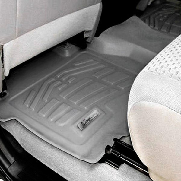 Image may not reflect your exact vehicle! Wade® - Sure-Fit Floor Mat - 2nd Row, Gray