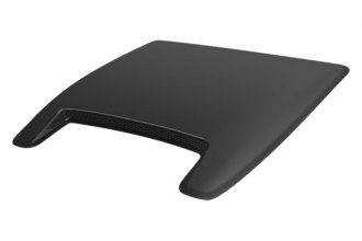 Wade® - Large Single Smooth Paintable Hood Scoop