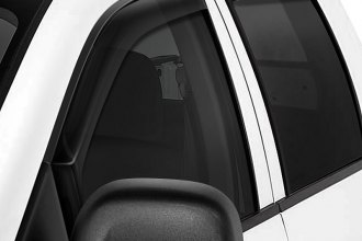 Image may not reflect your exact vehicle! Wade® - Smoke Window Deflectors