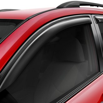 Wade® - Tape-On Slim Design Smoke Front and Rear Window Deflectors