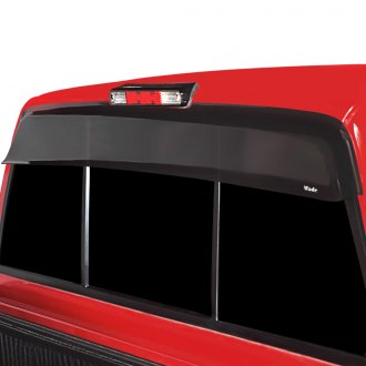 Wade® - Tape-On Smoke Rear Cab Guard Wind Deflector
