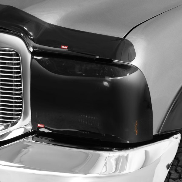 Image may not reflect your exact vehicle! Wade® - Smoke Headlight Covers