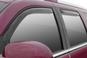Image may not reflect your exact vehicle! Wade® - In-Channel Smoke Window Deflector