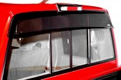 Wade® - Tape-On Smoke Cab Guard Wind Deflector with Light Cutout