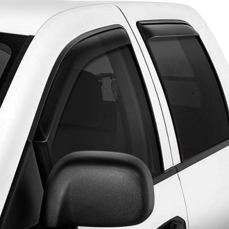 Wade® - In-Channel Smoke Front and Rear Window Deflectors