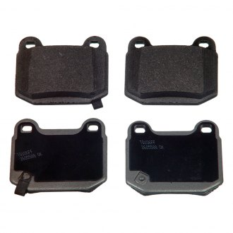 Wagner® - ThermoQuiet™ Semi-Metallic Rear Brake Pads