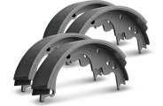 Wagner® - QuickStop™ Rear Parking Brake Shoes