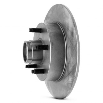 Wagner® - Solid Rear Brake Rotor and Hub Assembly