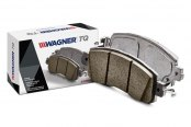 Image may not reflect your exact vehicle! Wagner® - Rear Brake Pads