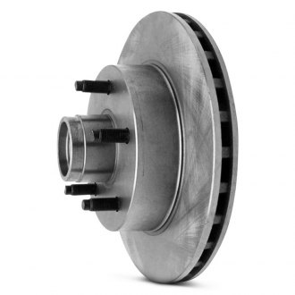 Wagner® - Vented 1-Piece Front Brake Rotor and Hub Assembly