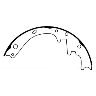 Wagner® - QuickStop™ Front Drum Brake Shoes
