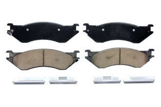 Wagner® ZD702 - QuickStop™ Ceramic Front Brake Pads