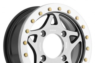WALKER EVANS RACING® - 500U RACE LEGEND Gloss Black with Machined Face and Beadlock