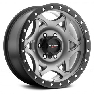 WALKER EVANS RACING® - 501GN LEGEND Satin Graphite with Black Lip and Clear Coat