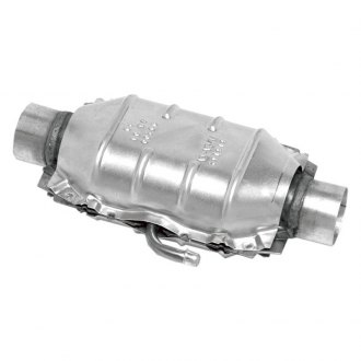 Walker 15034 - Small Oval Universal Fit Catalytic Converter with Air Tube