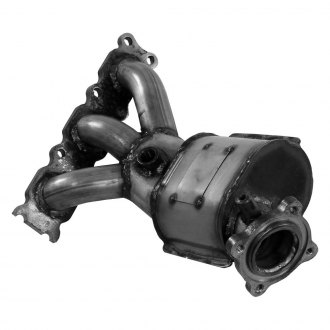 Walker® - Passenger Side Oval Manifold with Integrated Catalytic Converter