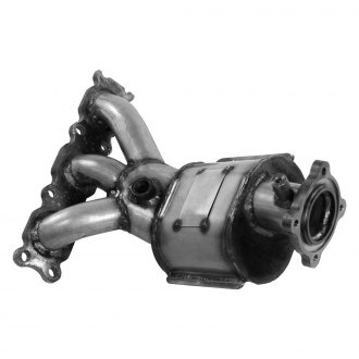Walker® - Driver Side Oval Manifold with Integrated Catalytic Converter