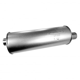 "Walker 17160 - SoundFX Round Muffler (2.5"" Offset Inlet / 2.5"" Offset Outlet)"