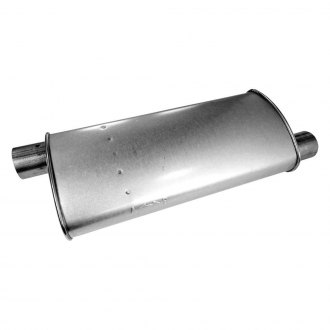 "Walker 17161 - SoundFX Oval Muffler (2.5"" Offset Inlet / 2.5"" Offset Outlet)"