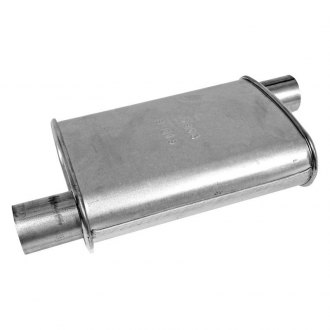 "Walker 17603 - Oval Installer Turbo Muffler (2"" Offset Inlet / 2"" Offset Outlet)"
