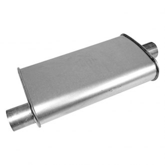 "Walker 17604 - Oval Installer Turbo Muffler (2"" Offset Inlet / 2"" Center Outlet)"