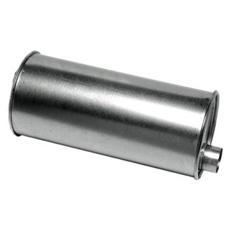 "Walker® - Pro-Fit Economy Stainless Steel Round Aluminized Exhaust Muffler (2"" Offset ID, 2"" Offset OD, 15"" Length)"