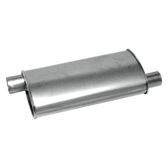 Walker® - Stainless Steel Oval Aluminized Exhaust Muffler