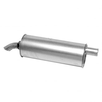 "Walker® - SoundFX™ Stainless Steel Aluminized Round Direct Fit Muffler (1.875"" Offset Inlet / 1.875"" Offset Outlet)"