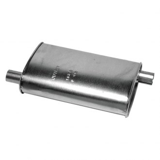 "Walker® - SoundFX™ Stainless Steel Aluminized Oval Direct Fit Muffler (1.75"" Offset Inlet / 1.875"" Offset Outlet)"