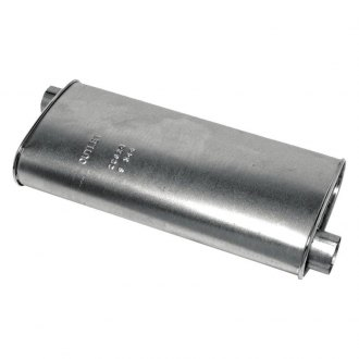 "Walker® - SoundFX™ Aluminized Steel Oval Direct Fit Muffler (2.5"" Offset Inlet / 2.25"" Offset Outlet)"