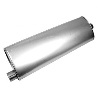 "Walker® - SoundFX™ Aluminized Steel Oval Direct Fit Muffler (2.25"" Offset Inlet / 2.25"" Center Outlet)"
