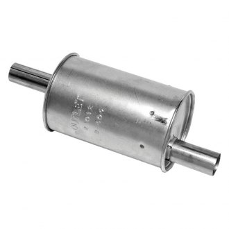 Walker® - Quiet-Flow™ Aluminized Steel Round Muffler