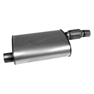 Walker® - Quiet-Flow™ Aluminized Steel Oval Direct Fit Muffler