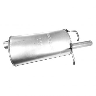 Walker® - Quiet-Flow™ Stainless Steel Bare Oval Muffler Assembly