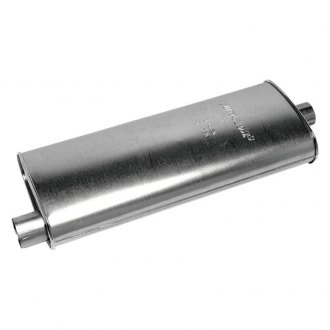 Walker® - Quiet-Flow™ Passenger Side Aluminized Steel Oval Muffler