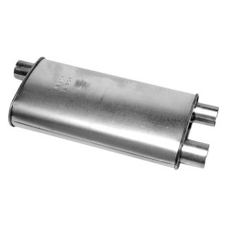 Walker® - Quiet-Flow™ Stainless Steel Oval Aluminized Exhaust Muffler
