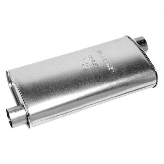 Walker® - Quiet-Flow™ Stainless Steel Aluminized Oval Muffler