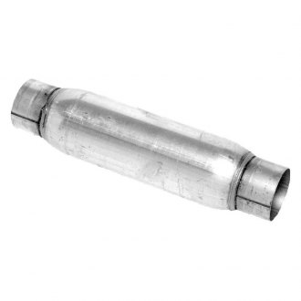 "Walker® - Glass Pack Series Stainless Steel Round Aluminized Exhaust Muffler (2"" ID, 2"" OD, 22"" Length)"